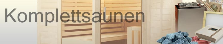 Komplett-Sauna