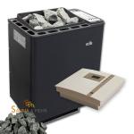 Technik-Set | EOS BIO Thermat Saunaofen 7,5 kW + Steuerung Econ H1 + Saunasteine