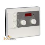 Sauna Steuergerät C.control New Edition weiß / silber
