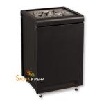 Sentiotec Saunaofen Concept R black von 9 - 15 kW