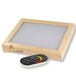 """LED Flächen-Farblicht XL mit """"Touch"""" Fernbedienung"""