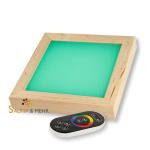 """LED Flächen-Farblicht mit """"Touch"""" Fernbedienung"""