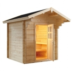 Domo by Sentiotec - Country Massivholz Gartensauna