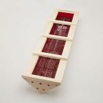 Holzrahmen für Vitallight-Strahler iPX4 für Eckmontage - Espe