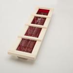 Holzrahmen für Vitallight-Strahler gerader Wandaufbau - Espe