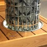 HARVIA Einbaurahmen für Cilindro Saunaofen