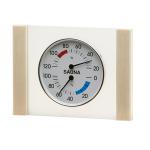 Klimastation - Thermo- / Hygrometer in Glas mit Holzrahmen Espe
