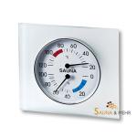 Klimamesser - Thermo- / Hygrometer im Glasrahmen