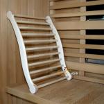 Sauna - Infrarot - Ergonomische Rückenlehne - Espe