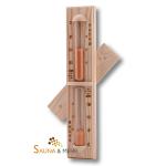 "Sauna Sanduhr ""Premio"" - 15 Minuten - Nadelholz"