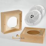 Sauna Lautsprecher Set bis 110°C
