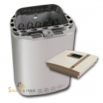 Kombi-Saunaofen Scandia Combi NEXT  + Steuerung EOS Econ H1