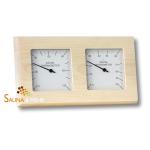 "Sauna Klimastation ""Wave"" Thermometer u. Hygrometer - Gehäuse ESPE"