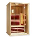 Infrarotkabine Vario Glas 125 - Cedar