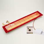 Infrarot Strahler-Set Easy Control mit Einbaustrahler IPx4 Fb. rot u. Regelung