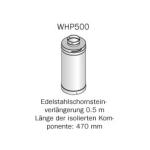 HARVIA Verlängerung für Edelstahlschornstein - 500 mm