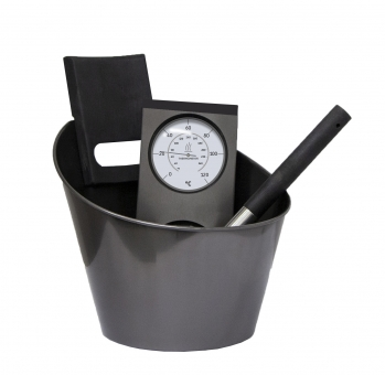 HARVIA Sauna Zubehör-Set Black Steel