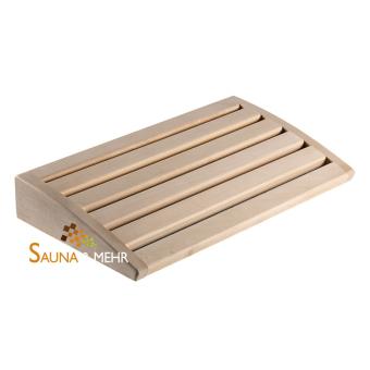 Sauna Holz Kopfstütze - Komfort - Linde