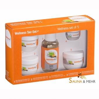 Sauna Wellnes-Set 5-tlg.