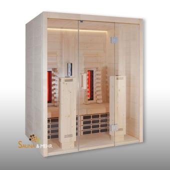VitaMy Infrarot Wärmekabine 164 Basic mit IR-Strahler u. IR-Platten Basic (B)