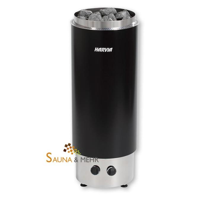 sauna und mehr shop harvia cilindro f s ulen saunaofen mit integrierter steuerung. Black Bedroom Furniture Sets. Home Design Ideas