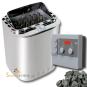 Technik-Set   Combi Saunaofen 8 kW + Steuerung Combicontrol + Saunasteine