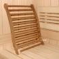 Sauna - Infrarot -  Ergonomische Rückenlehne - Zeder dunkel