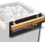 HARVIA Reling für Virta-Saunaofen 1-tlg. für Frontseite