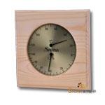 Sauna Hygro-/Thermometer Klimamesser in Holz