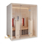 VitaMy Infrarot Wärmekabine 164 mit IR-Strahler u. IR-Platten