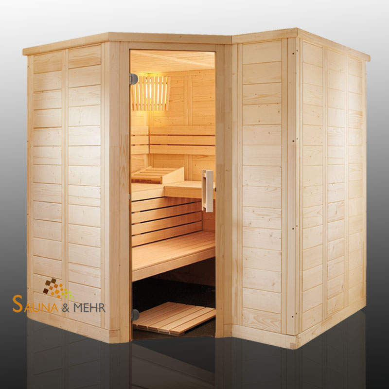 sauna und mehr shop polaris massivholz saunakabine. Black Bedroom Furniture Sets. Home Design Ideas