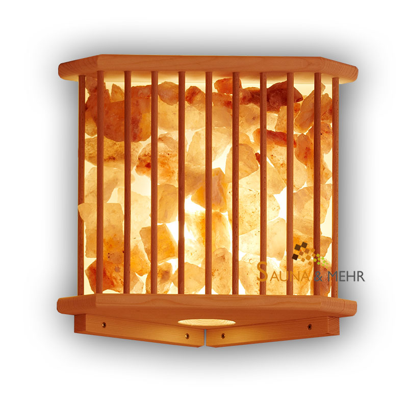 sauna und mehr shop saunaleuchte mit salzkristallen online kaufen. Black Bedroom Furniture Sets. Home Design Ideas