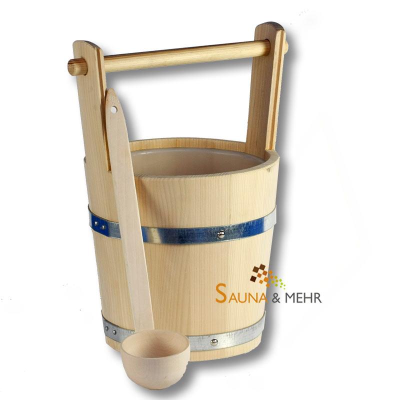 sauna und mehr shop sauna zubeh r set maxi one aufgussk bel und sch pfkelle online kaufen. Black Bedroom Furniture Sets. Home Design Ideas