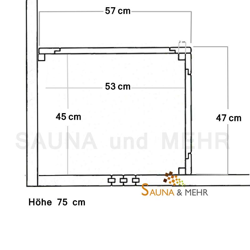 sauna und mehr shop ofenschutzgitter komfort 2 teilig online kaufen. Black Bedroom Furniture Sets. Home Design Ideas